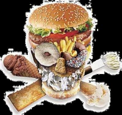 Carboidratos ruins com alimentos