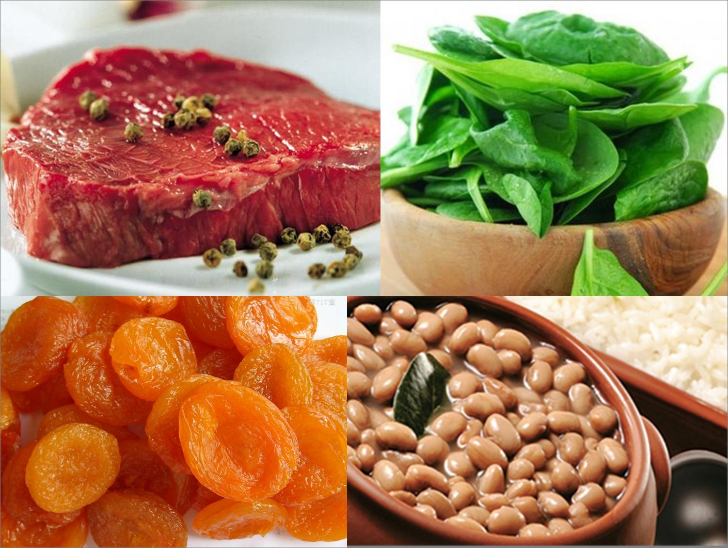 Alimentos ricos em ferro - Alimentos ricos en gluten ...