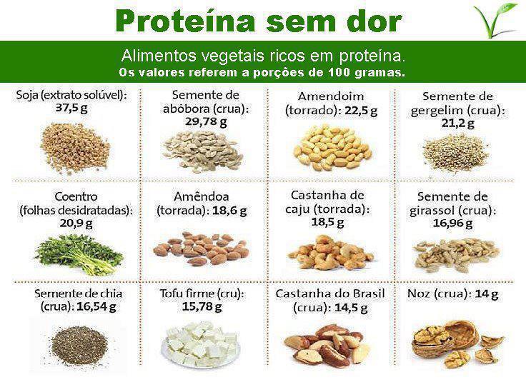 Proteinas sem dor