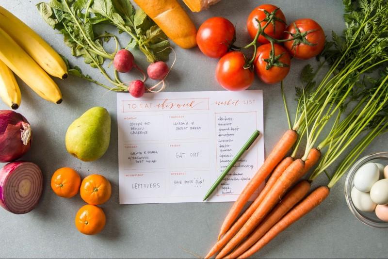 ideas para organizar dieta